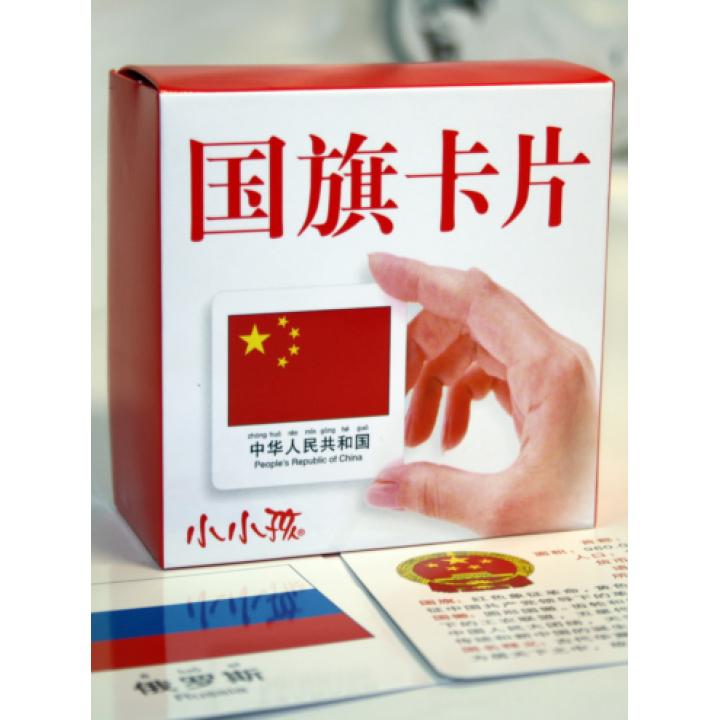 Китайские карточки (с флагами)